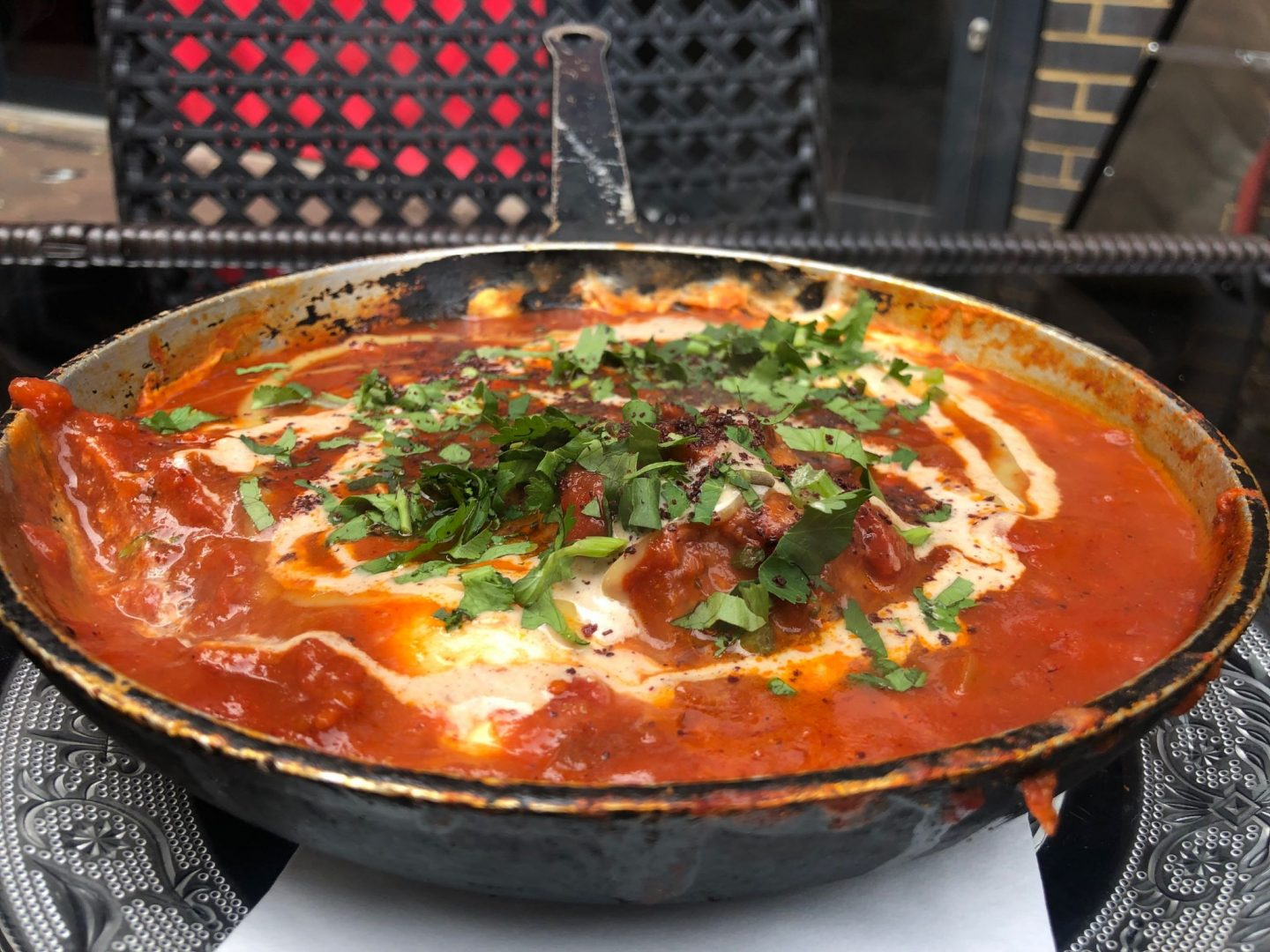 Shakshouka with lamb