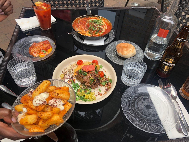 Bank Israeli street food