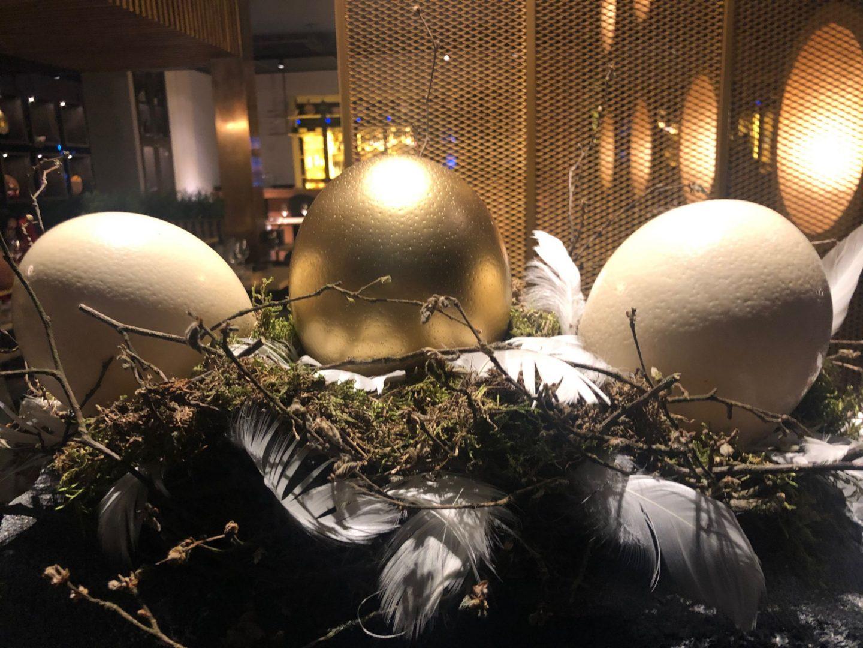 Stork eggs