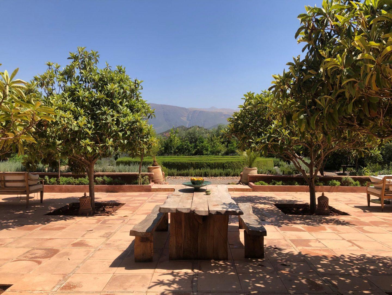 Kasbah Bab Ourika landscape