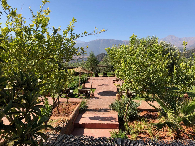 Kasbah Bab Ourika landscape pictures