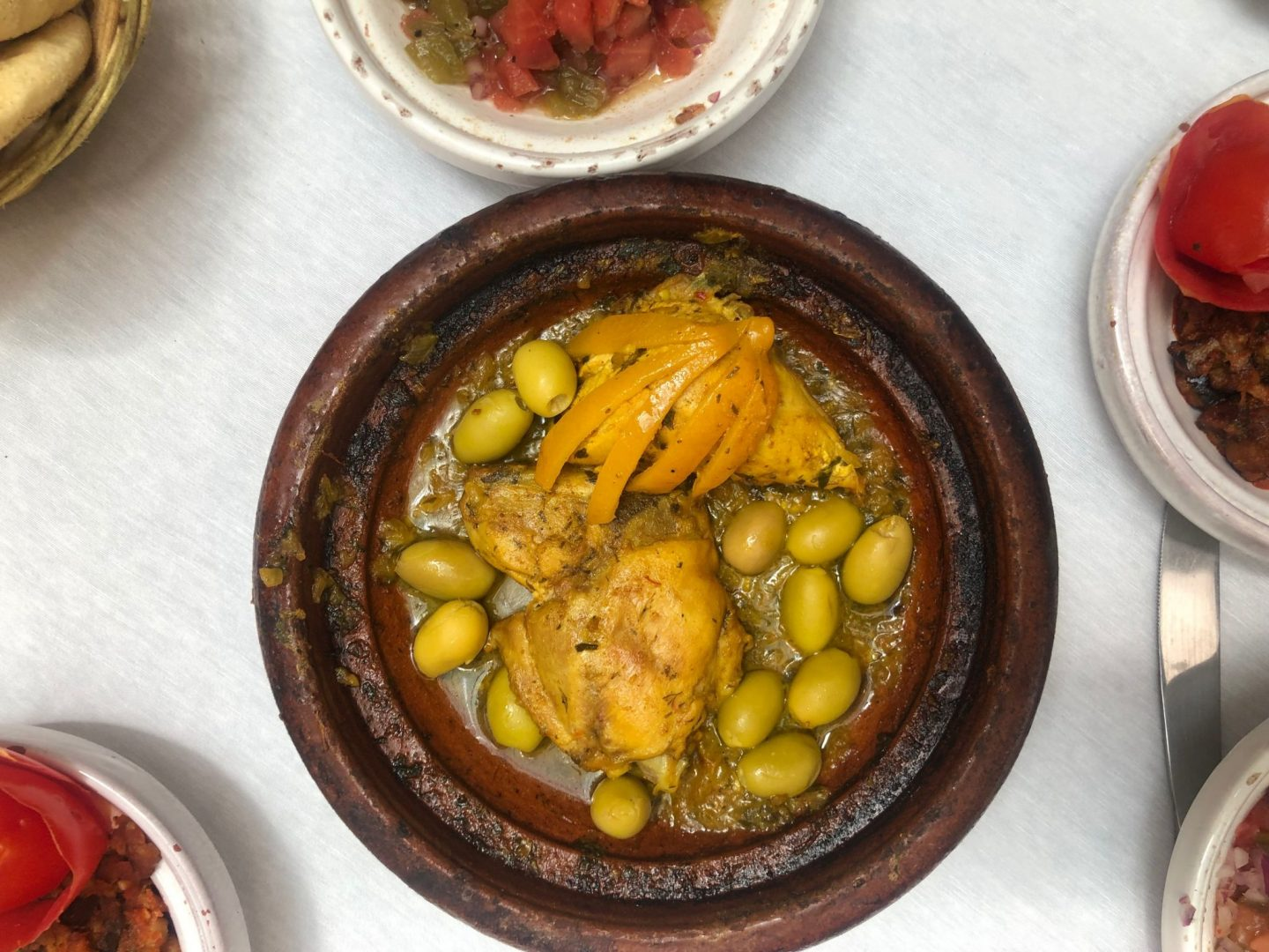 Chicken Tagine with lemon preserves