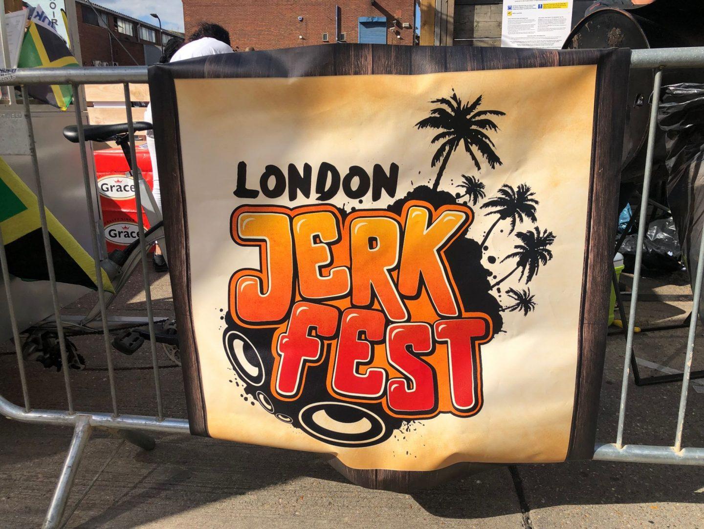 London Jerk Festival Banner