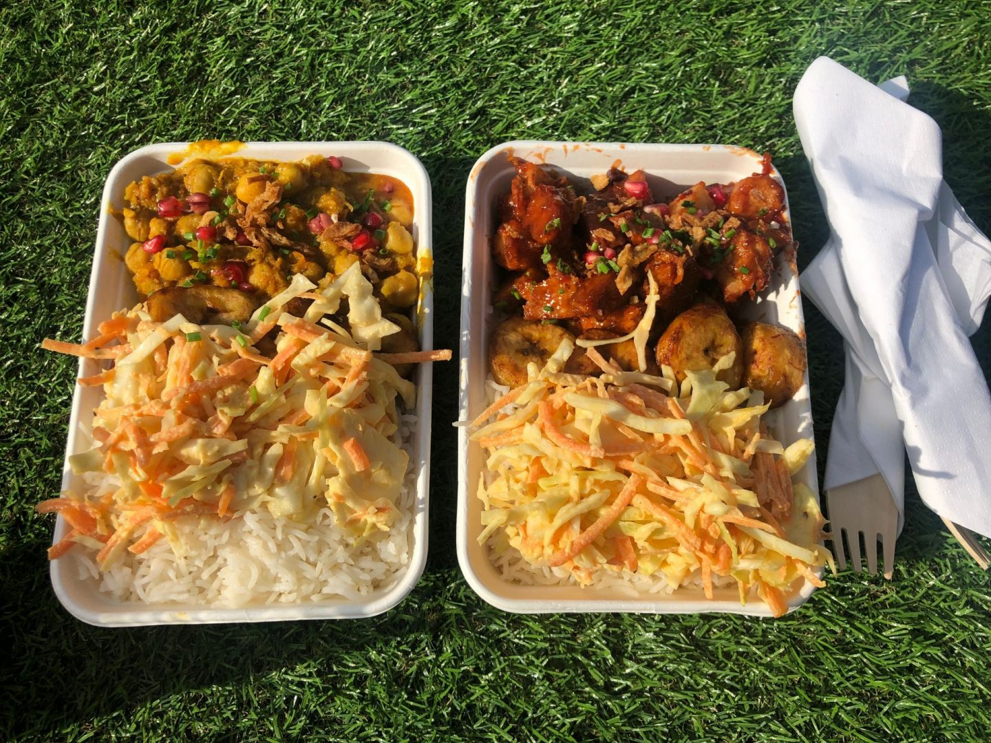 London jerk festival Vegan food