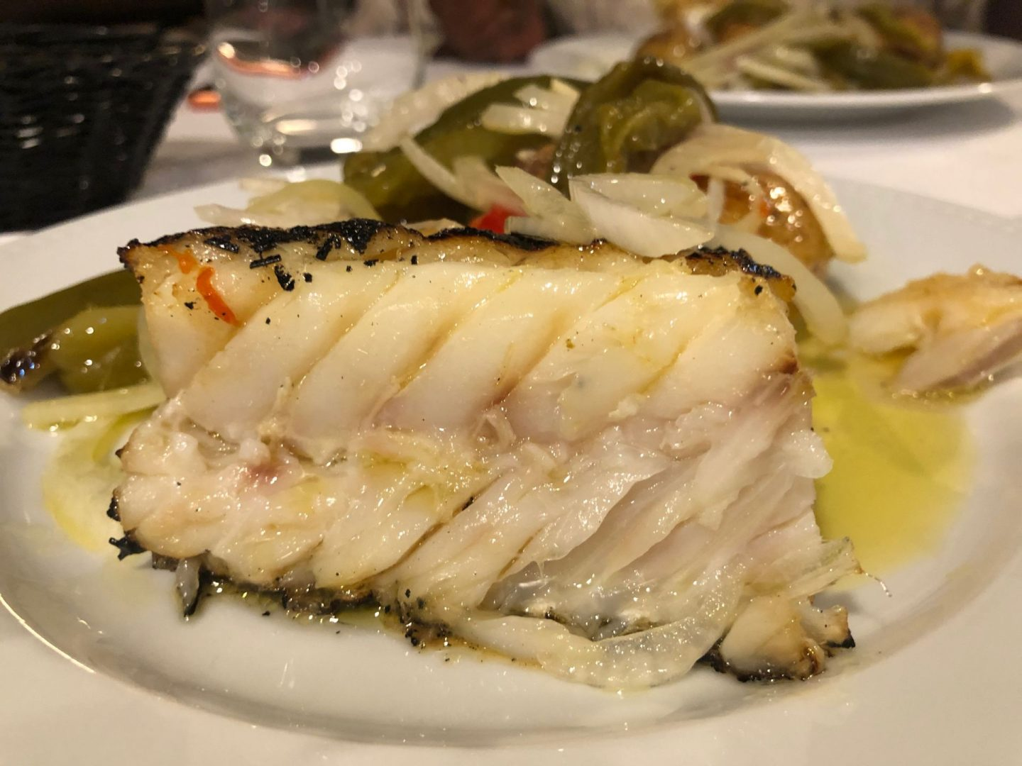 Tastiest plate of food in Porto : The Bacalhau a Lagareiro