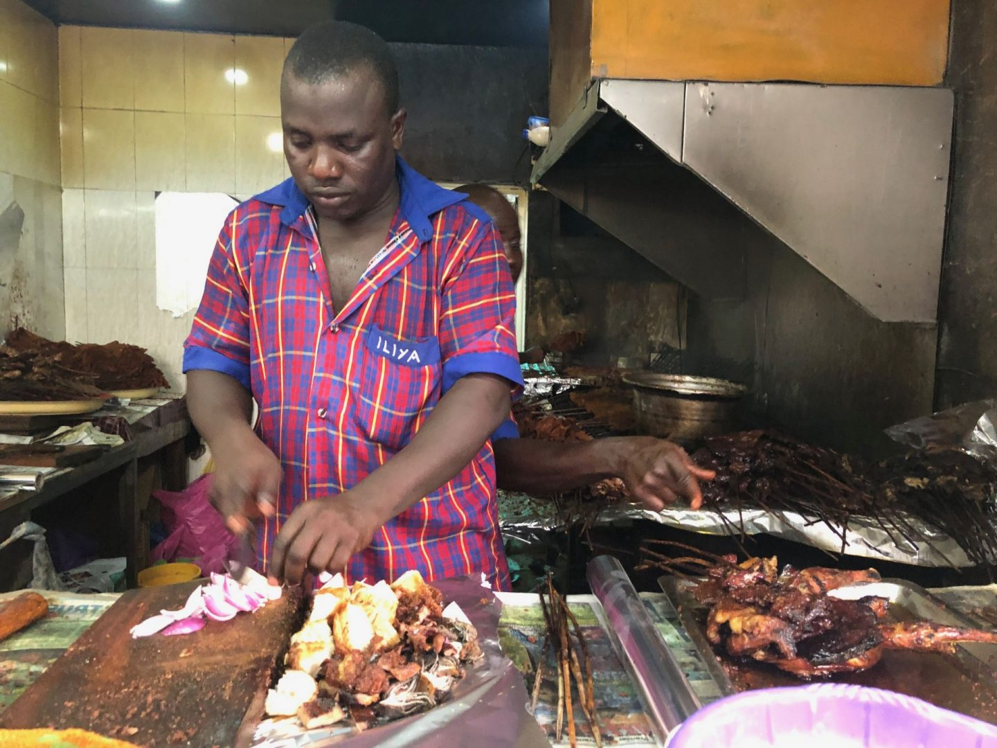 Favourite Suya spots in Lagos : Glover court