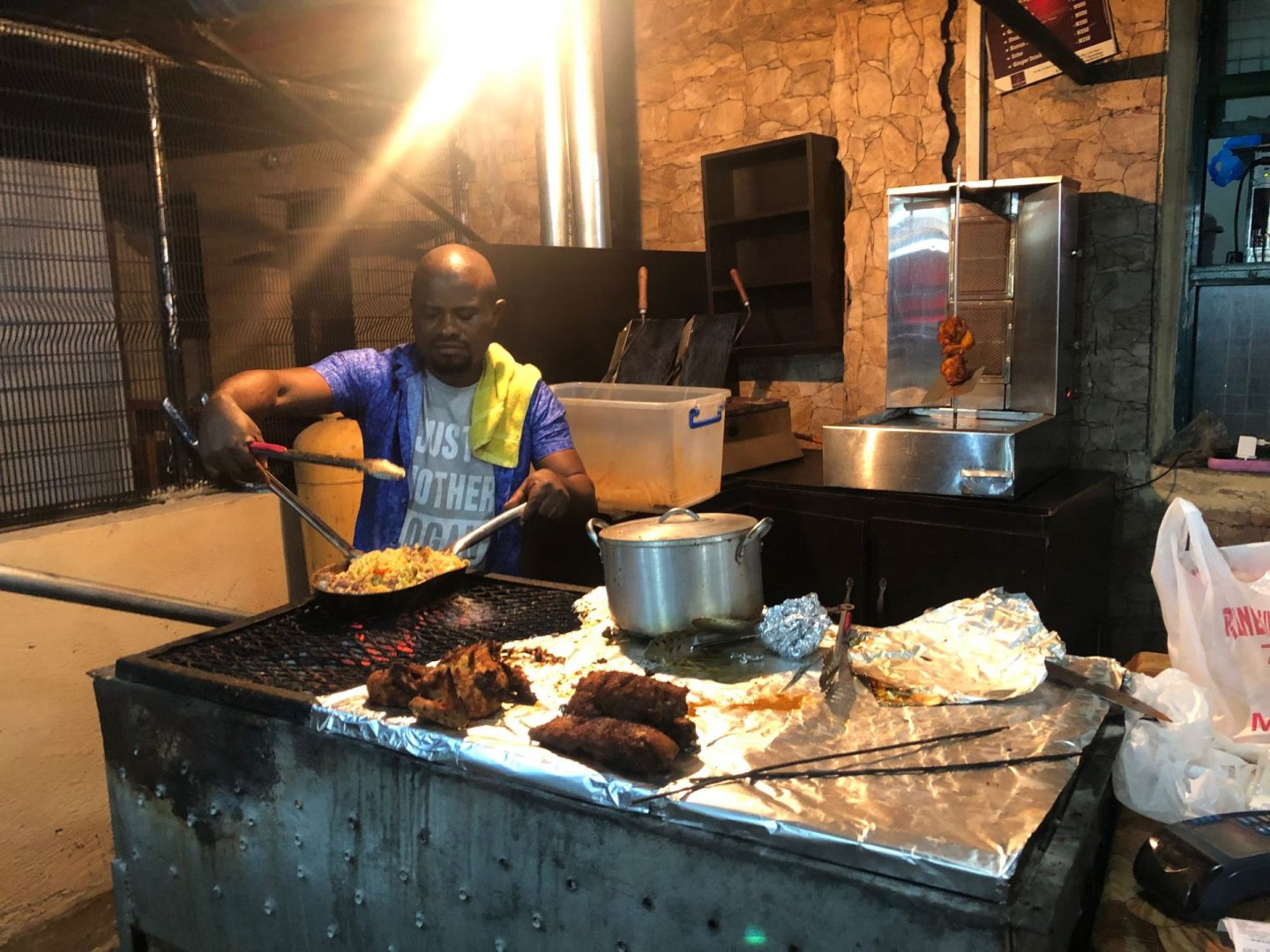 Favourite Suya spots in Lagos : Noodles and Suya at Mai Balangu