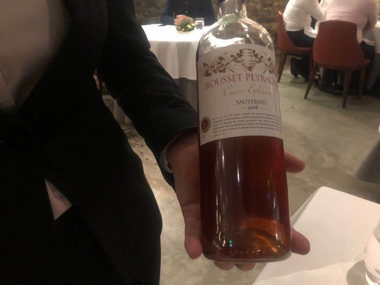 2008 Rousset Peraguey ' Curvee Esplasen ' Bordeaux