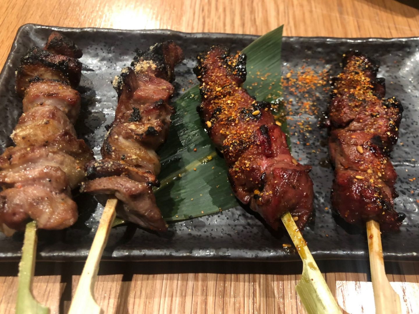 Charcoal fireside cooking at Soho's Robata restaurant